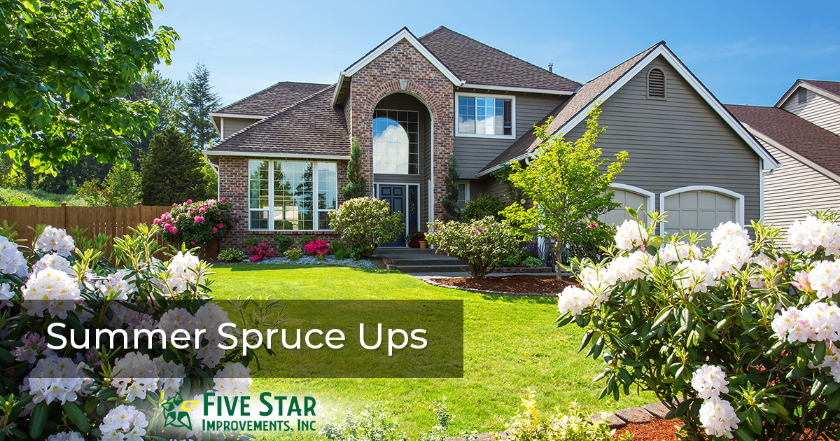 Enhance Your Home with Summer Remodeling Spruce Ups
