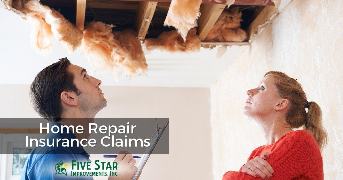 Home Repair Insurance Claims