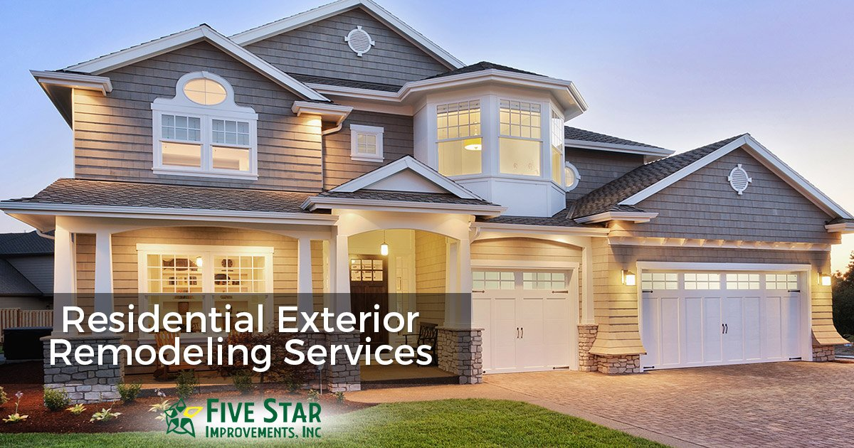 Residential Exterior Remodeling Services