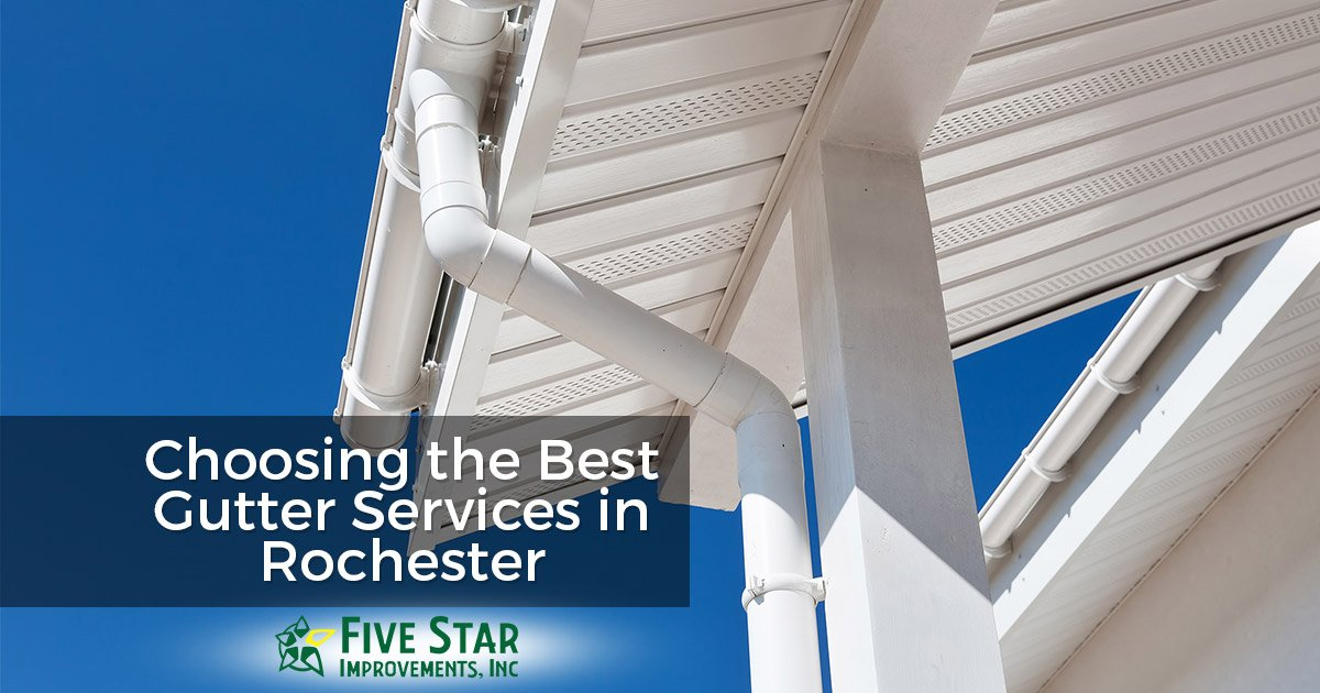 Best Gutter Services in Rochester NY