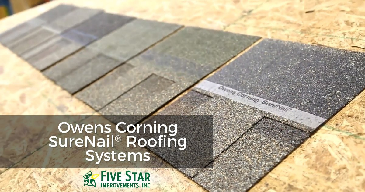 Owens Corning SureNail Roofing Systems