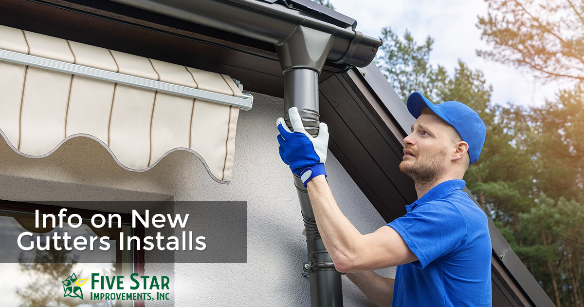Having New Gutters Installed in Rochester NY