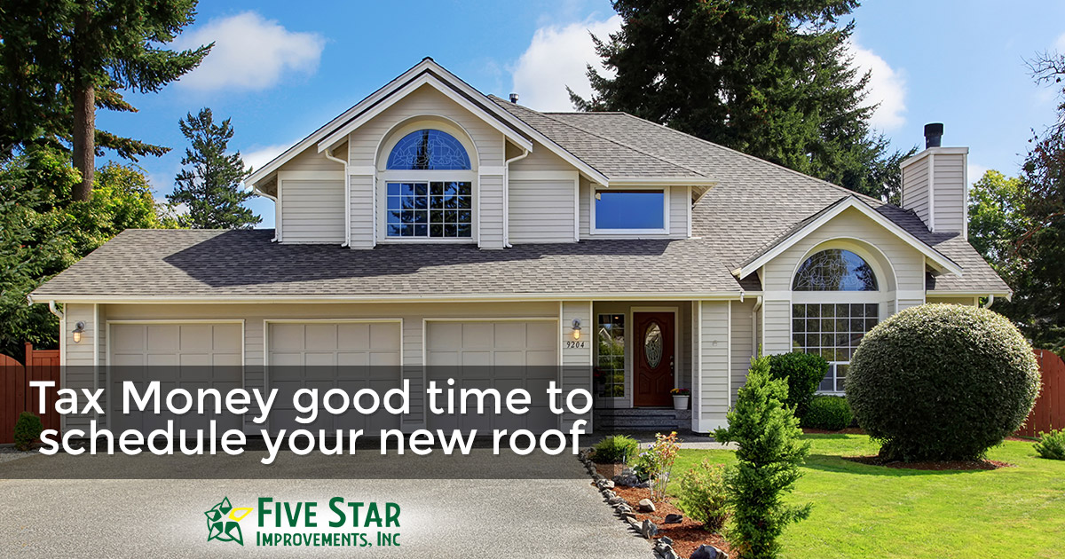 Using Your Tax Return for Roof Replacement