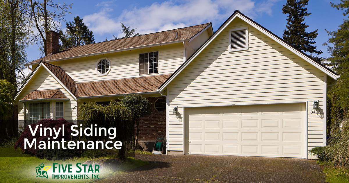 How to Properly Clean and Maintain Vinyl Siding