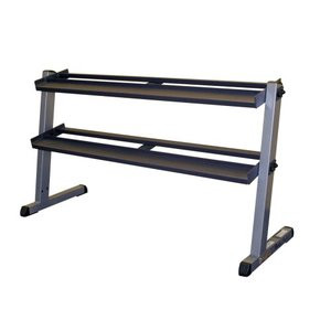 Body-Solid 2 Tier Horizontal Dumbell Rack - New