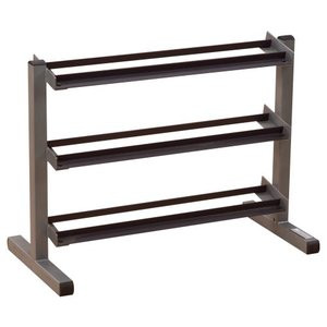 Body Solid 3 Tier Horizontal Dumbell Rack - New