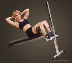Body Solid Adjustable Ab Board - New