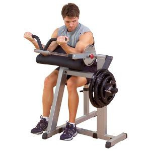 Body-Solid Cam Series Plate Loaded Arm Curl & Extension Machine - New