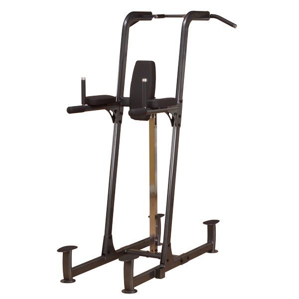Body Solid Fusion Vertical Knee Raise, Dip & Pull Up - New