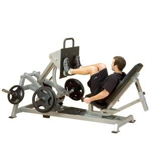 Body Solid Leverage Plate Loaded Horizontal Leg Press - New