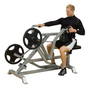 Body Solid Leverage Plate Loaded Seated Row - New