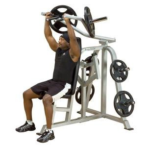 Body Solid Leverage Plate Loaded Shoulder Press - New