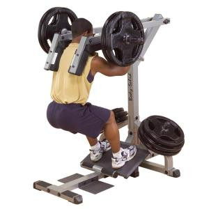 Body Solid Leverage Plate Loaded Squat Calf Machine - New