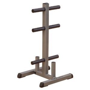 Body Solid Olympic Plate Tree and Bar Holder GOWT - New