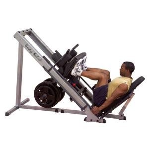 Body Solid Plate Loaded Leg Press & Hack Squat  Machine - New