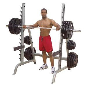 Body Solid Plate Loaded Multi-Press Rack - New