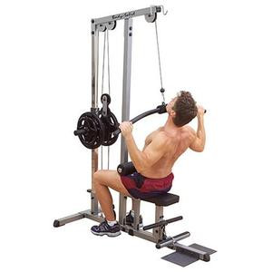 Body Solid Plate Loaded Pro Lat Machine - New