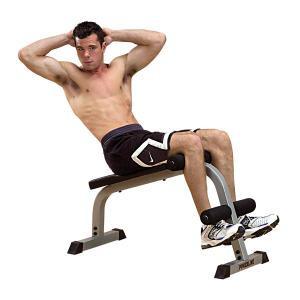 Body Solid Powerline Ab Board - New
