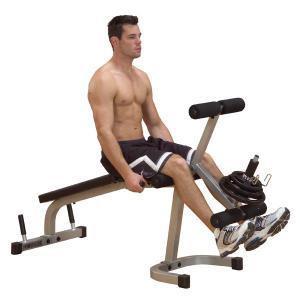 Body Solid Powerline Leg Extension & Curl Machine - New