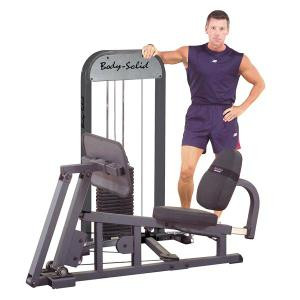 Body Solid Selectorized Leg and Calf Press Machine - New