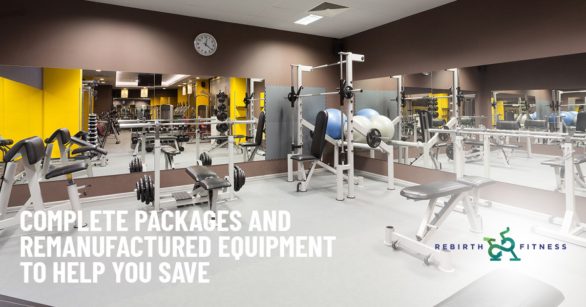 Complete Packages and Remanufactured Equipment to Help You Save