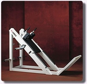 Cybex Plate Loaded Hack Squat - Remanufactured $1650