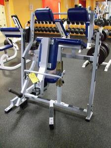 Hammer Strength Plate Loaded Arm Extension - Remanufactured