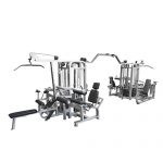 Muscle D The Compact 8 Stack Multi Gym - New