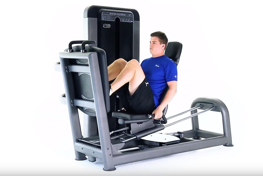 Pulse Fitness Evolve Seated Leg Press - New