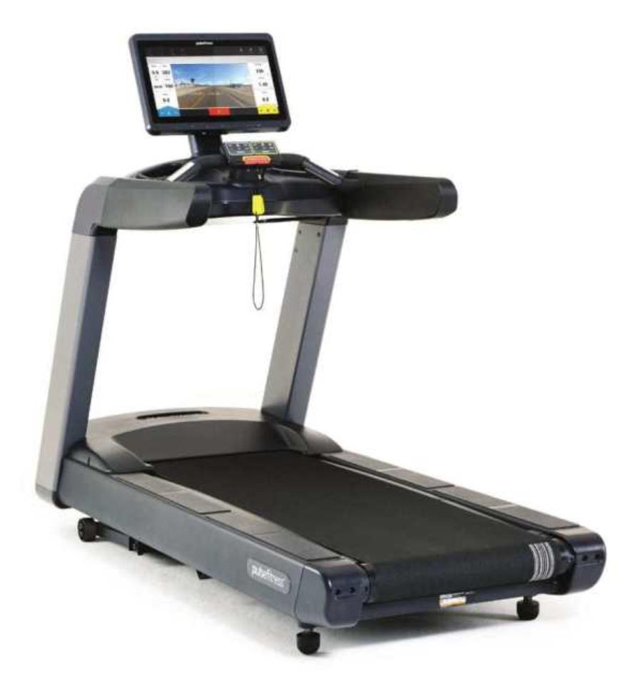 Pulse Treadmill w/Dell Console - New