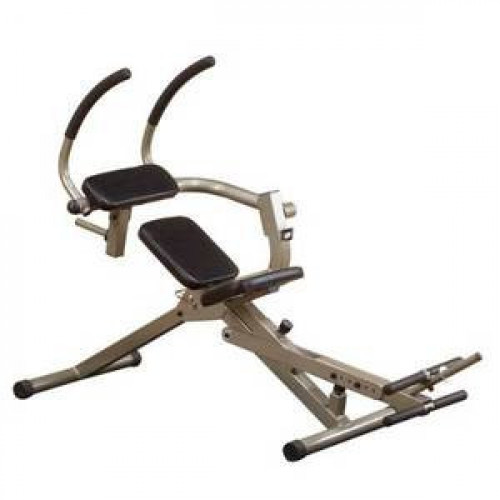 Body Solid Best Fitness Semi-Recumbent Ab Bench - New