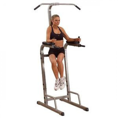 Body Solid Best Fitness Vertical Knee Raise - New