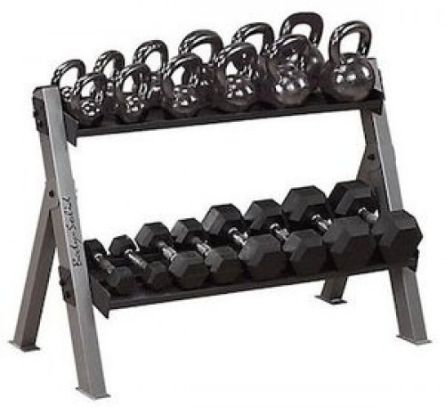 Body Solid Dumbell/Kettleball Rack - New
