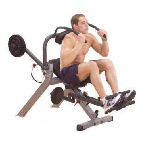 Body-Solid GAB300 Semi-Recumbent Ab Bench - New