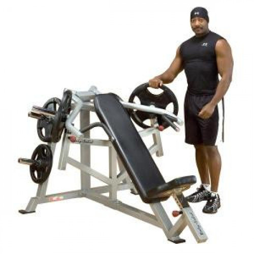 Body Solid Leverage Incline Bench Press - New