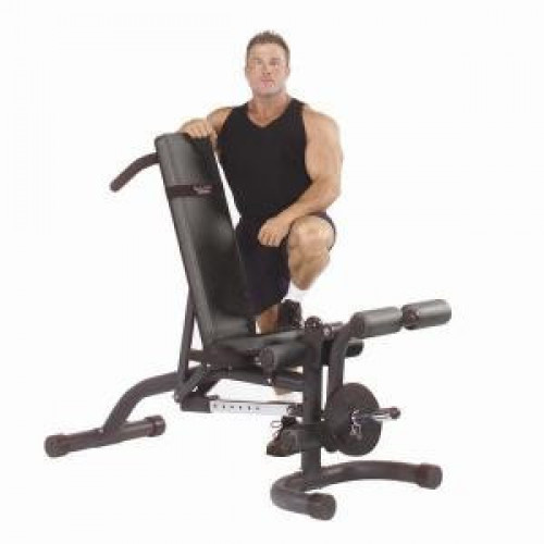Body Solid Olympic Leverage Flat Incline Decline Bench - New