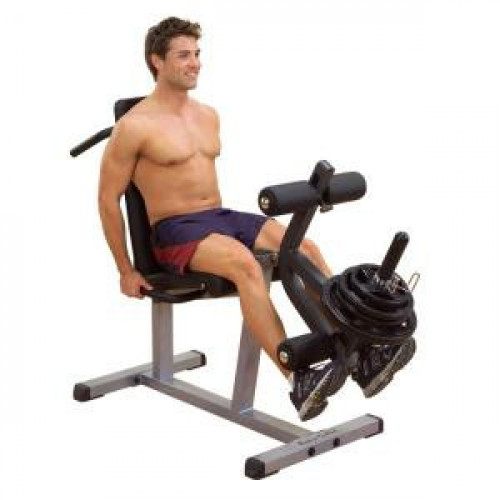 Body Solid Plate Loaded Leg Curl & Extension Machine - New