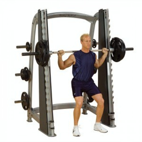 Body Solid Plate Loaded Pro Clubline Counter Balanced Smith Machine - New