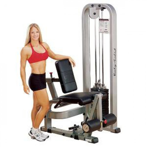 Body Solid Selectorized Pro Clubline Leg Extension Machine 310 lbs Stack - New