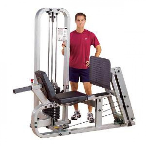 Body Solid Selectorized Pro Clubline Leg Press Machine 210 lbs Stack - New
