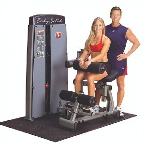 Body Solid Selectorized Pro Dual Ab and Back Machine - New