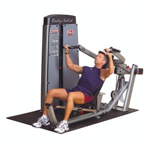 Body Solid Selectorized Pro Dual Multi Press Machine - New