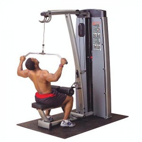 Body Solid Selectorized Pro Dual Lat Mid Row Machine - New