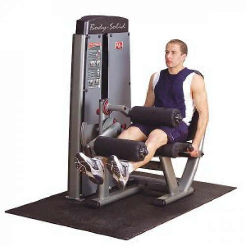 Body Solid Selectorized Pro Dual Leg Extension Curl Machine - New