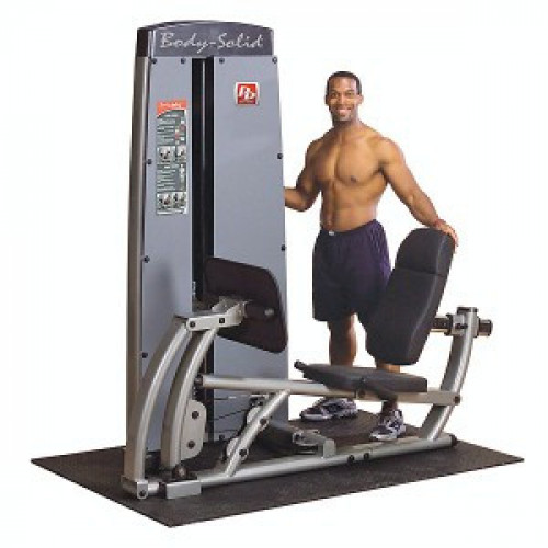 Body Solid Selectorized Pro Dual Leg Press & Calf Press Machine - New