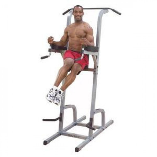 Body Solid Vertical Knee Raise, Dip Station & Pull Up - New