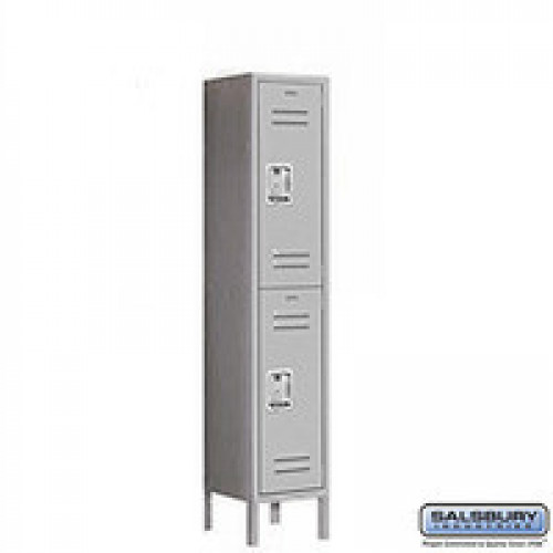 "Double Tier Standard Locker 18"" Depth"