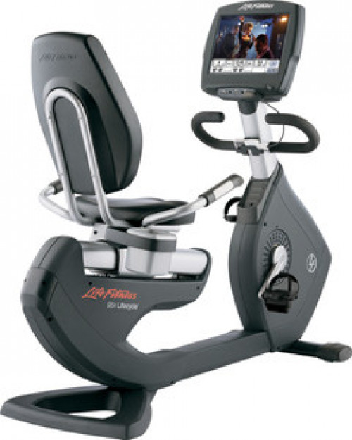 Life Fitness 95R Engage Recumbent Bike Remanufactured