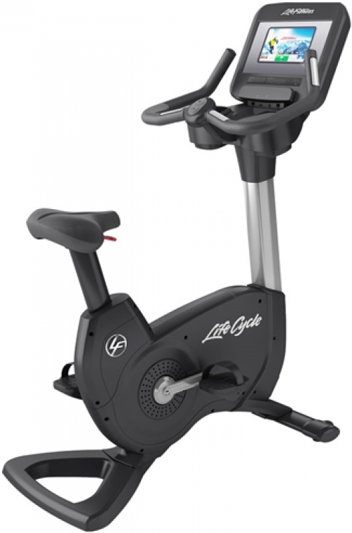 Life Fitness Discover SI Elevation Upright Bike (Remanufactured)