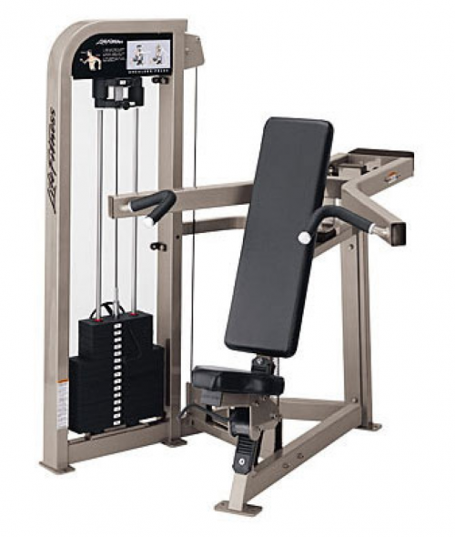 Life Fitness Pro 2 Shoulder Press - Remanufactured